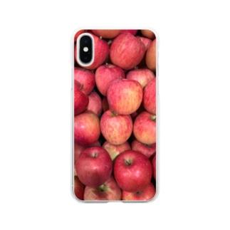 リンゴふぇすてぃばる Soft clear smartphone cases