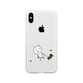 サンポneco Soft clear smartphone cases