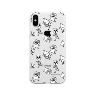バウの「バウズクラブ」スマートフォンケース Soft clear smartphone cases