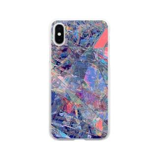 かくかくからふる Soft clear smartphone cases