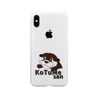 コツメさん Soft clear smartphone cases