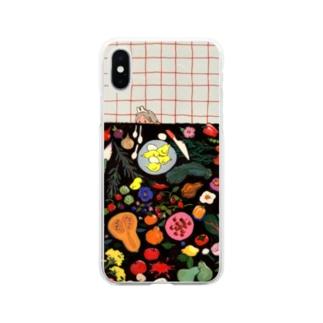食卓 Soft clear smartphone cases