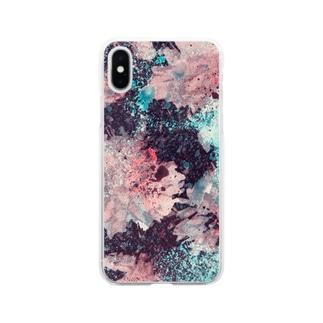 なんて無い時間に生まれた Soft clear smartphone cases