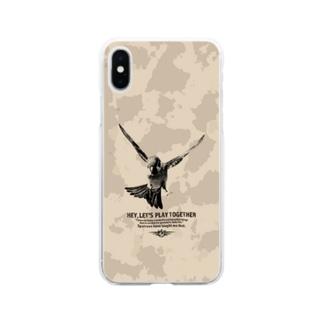 飛翔 ver.2 Soft clear smartphone cases