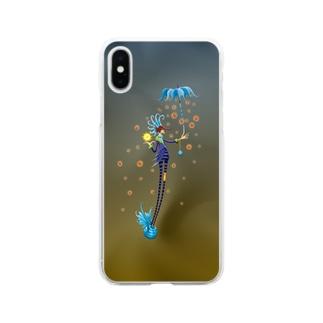 MarcelostのNoppo Ombrello Azure Soft clear smartphone cases