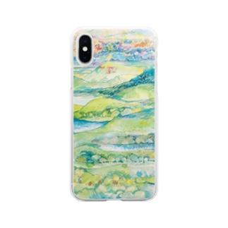 山湖山 Soft clear smartphone cases