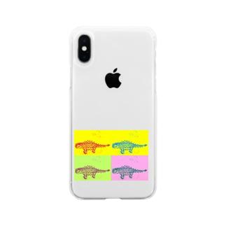 そらいろ/空彩のサイカニヤ ニヤ Soft clear smartphone cases