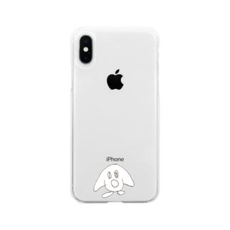さーびぃ Soft clear smartphone cases