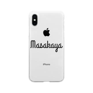 Hoshino Asato.のMasakaya Soft clear smartphone cases