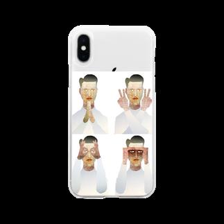 majiodesignのPAN・Ⅱ・MARU・MIE Soft clear smartphone cases