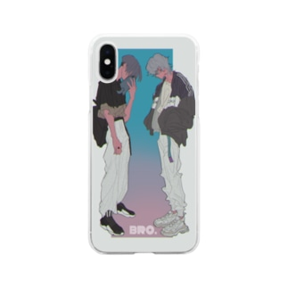 bro. Soft clear smartphone cases