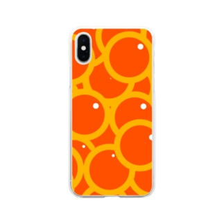 つややかないくら Soft clear smartphone cases