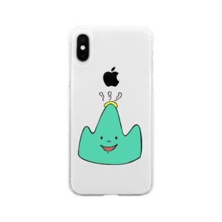 なかい山8周年 Soft clear smartphone cases