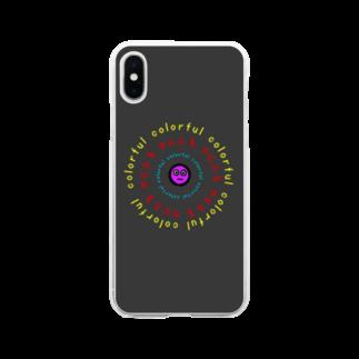 からふるのからふるのiPhoneケース Soft clear smartphone cases