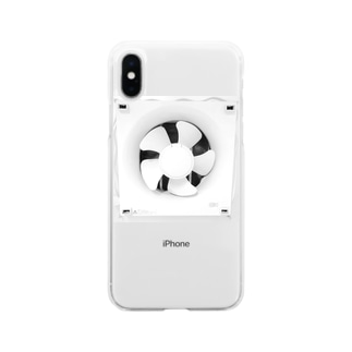 Ventilation Fan Soft clear smartphone cases