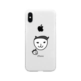 サマンサ兄弟 Soft clear smartphone cases