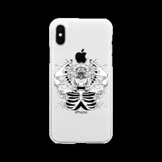 島田。の崇拝 Soft clear smartphone cases