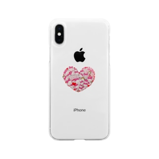 Ella Heart Soft clear smartphone cases