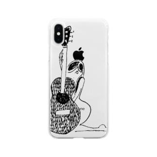 くびれ Soft clear smartphone cases