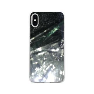 ガラス Soft Clear Smartphone Case
