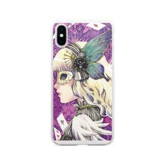 私はアリス Soft clear smartphone cases