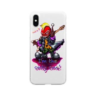 オンリーワン Soft clear smartphone cases