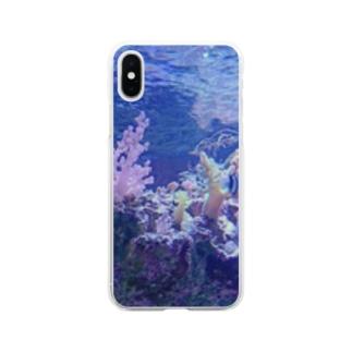 aquarium Soft clear smartphone cases