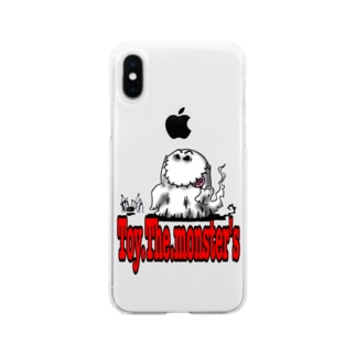 Toy.The.monster's ゴーシュ&スパイン Soft clear smartphone cases