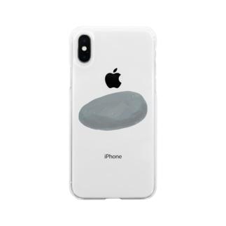石 Soft clear smartphone cases