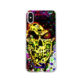 Death Mosaic Soft clear smartphone cases
