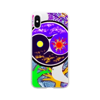 Night&Day Soft clear smartphone cases