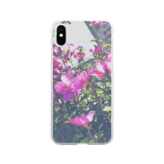 あの日の花 Soft clear smartphone cases