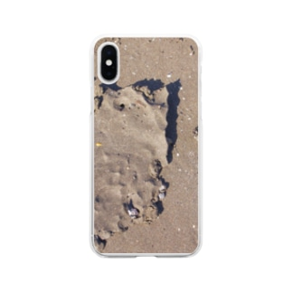 砂 Soft clear smartphone cases