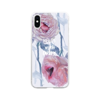 Okuchi Barachan Soft clear smartphone cases