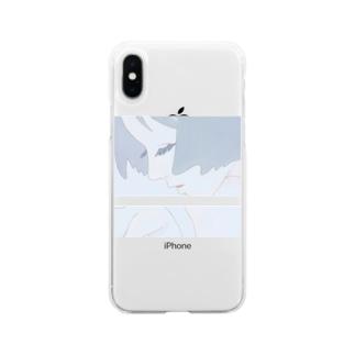 風 Soft clear smartphone cases