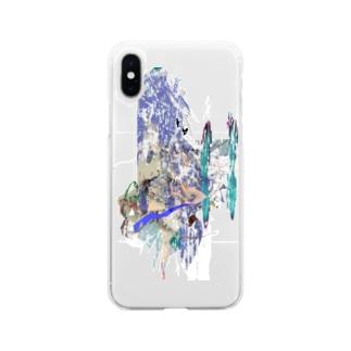 付属品娘 Soft clear smartphone cases