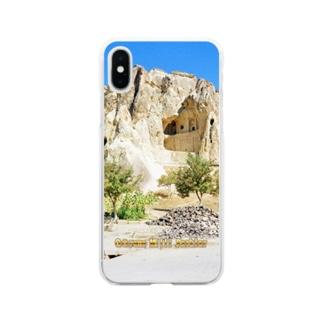 トルコ:ギョレメの岩窟教会 Turkey: Göreme Milli Parklar Soft clear smartphone cases
