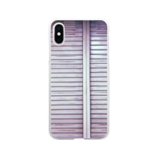 シャッター Soft clear smartphone cases