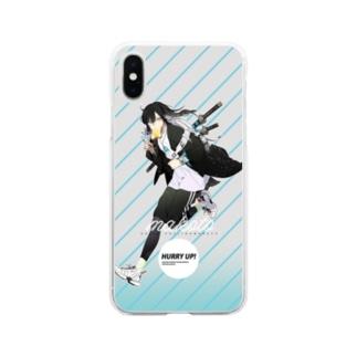 沖田総司×NOWADAYS Soft clear smartphone cases