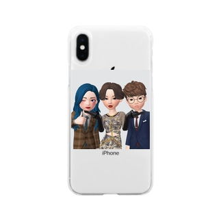 タピ♪タピ♪ズ Soft clear smartphone cases