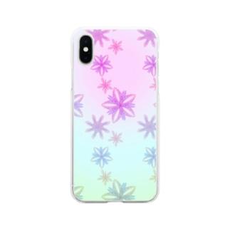 羽花 Soft clear smartphone cases