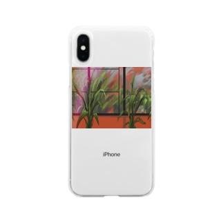 酩酊 Soft clear smartphone cases