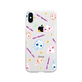 Zombies Fruit!☆b Soft clear smartphone cases