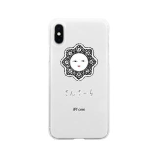 さんさーら Soft clear smartphone cases
