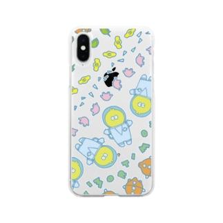 ミトロの宇宙柄 Soft clear smartphone cases