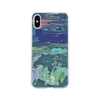 原宿② Soft clear smartphone cases