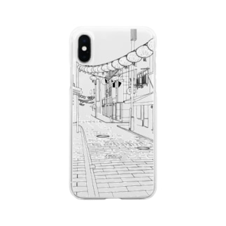 街角 Soft clear smartphone cases