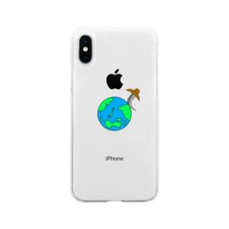 世界平和 Soft clear smartphone cases