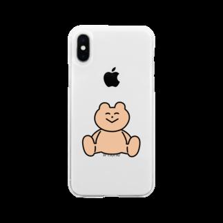 わかるのくま Soft clear smartphone cases