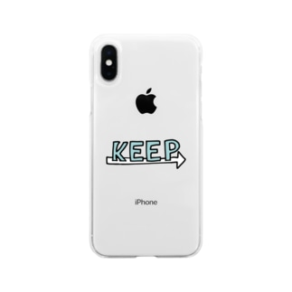 現状維持 Soft clear smartphone cases